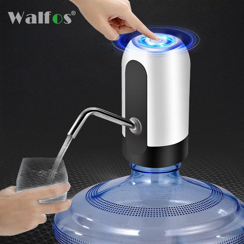 מתקן מים בקבוק מים בקבוקי שתיית משאבת מים חשמלי נייד נטענת אלחוטי Drinkware ספורט/קמפינג כלי