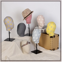 2017 New Style Fabric Head Mannequin Fashionable Female Head Model On Sale