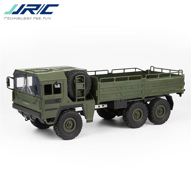 JJRC Q64 1/16 2.4G 6WD Rc Voiture Militaire Camion Hors-route Rock Crawler RTR Jouet 6 Roues Racing jouets Pour Enfants Enfants Cadeaux Présente