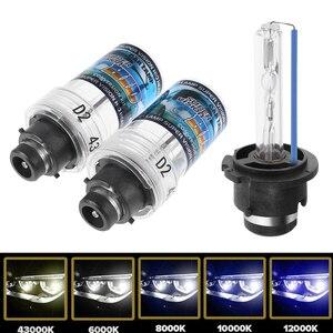 Image 2 - 2PC D2S 35W Scheinwerfer Hid lampen Auto Lichtquelle Ersatz Auto Zubehör 4300/6000/8000/ 10000/12000K