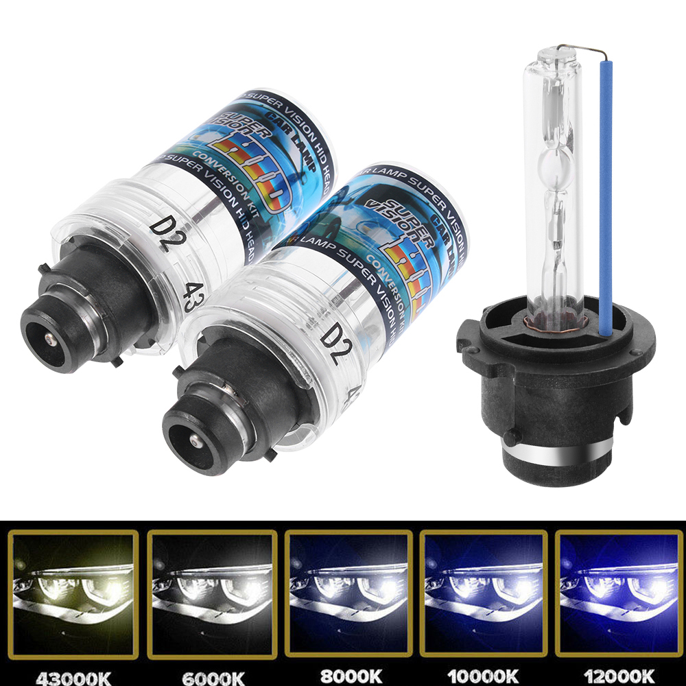 2PC D2S 35W Xenon Headlight HID Bulbs Car Light Source Replacement Auto Accessories 4300/6000/8000/10000/12000K-in Car Headlight Bulbs(LED) from Automobiles & Motorcycles