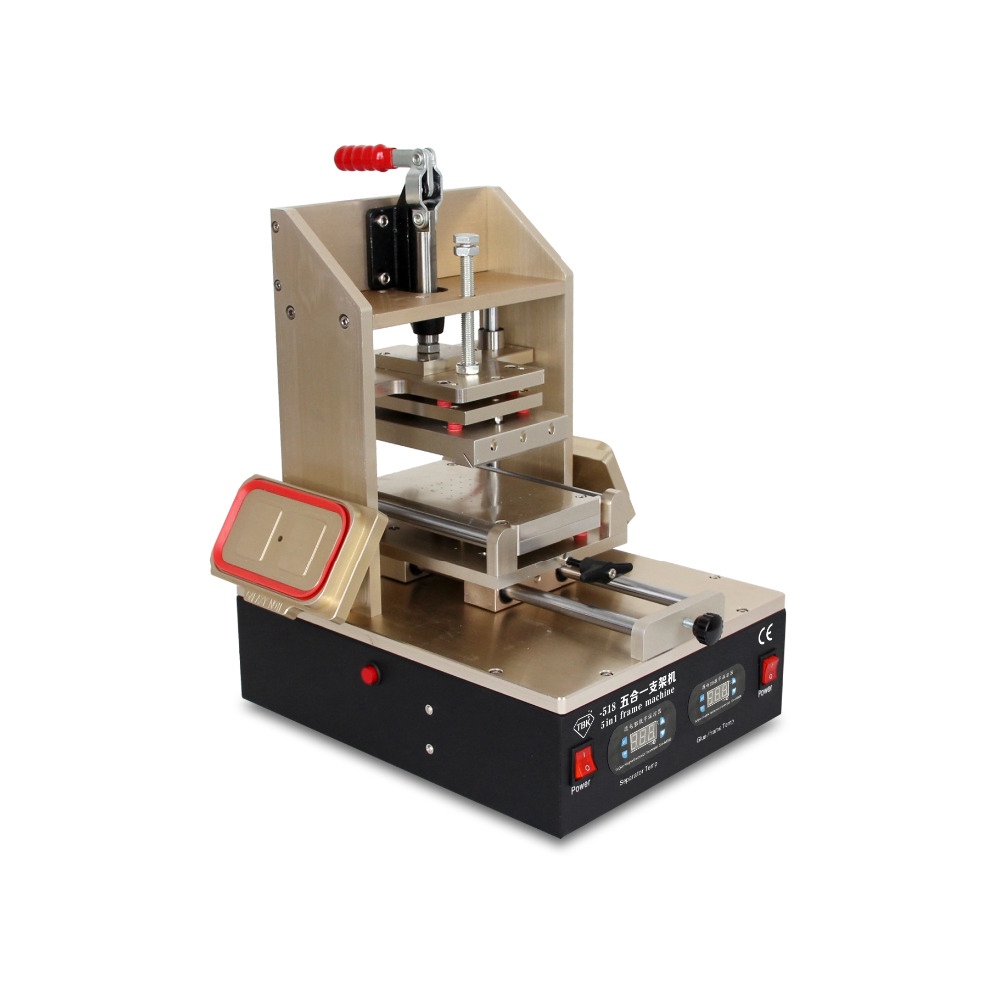 TBK-518 5 in1 Universal LCD Repair Machine For Samsung Middle Bezel Separator Glue Remover Frame Laminating Machine laminating machine for iphone 4 4s 5 middle bezel frame pressing frame machine