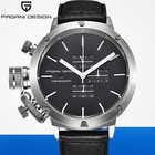 2019 PAGANI, relojes deportivos de diseño a la moda para hombre, reloj multifunción de buceo con cronógrafo de cuarzo, reloj de hombre, reloj de cuero - 2