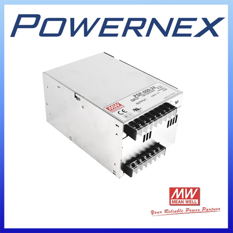 [PowerNex] MEAN WELL original PSP 600 24 24V 25A meanwell PSP 600 24V 600W with PFC and Parallel Function Power Supply