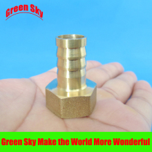 12mm Hose Barb Tail To 1/2PT BSP Female Thread Straight Barbed Brass Connector Joint Copper Pipe Fitting Coupler Adapter