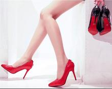 Nude Heels Frauen Rote Schuhe Nude Pumps Hohe Schuhe Partei schuhe Spitz High Heels Sapato Mijer Sexy Fersen
