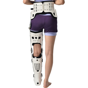 Image 5 - HKAFO Hip Knee Ankle Foot Orthosis For Hip Fracture Femoral Femur Fracture Hip Instability Fixation Of Lower Limb Paralysis Leg