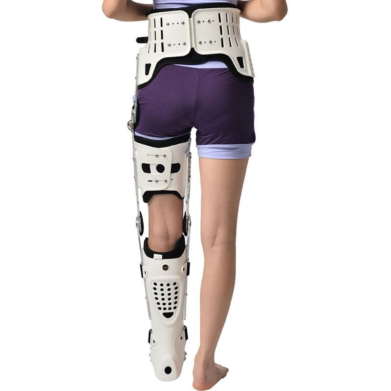 Hkjd joelho tornozelo pé kafo inferior membro oorthotic produto orthotic orthose fratura apoio reabilitação - 6