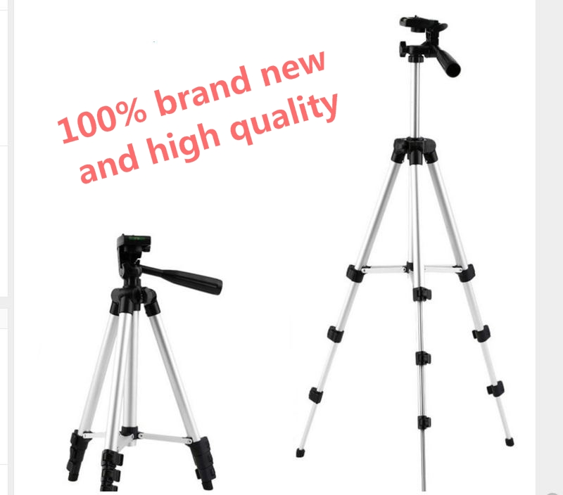 Amopofo Camera Tripod Stand 4 Section Lightweight Portable Aluminum Mini Tripods for Canon and for Nikon