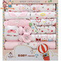 1 Suit Gift BoxesCotton Newborn Baby Clothes Summer Neonatal Gift Boxes Baby Supplies Full Moon Baby Suits ATST0275