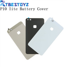 RTBESTOYZ New Glass Battery Back Door Cover Case Rear Protective Battery Housing