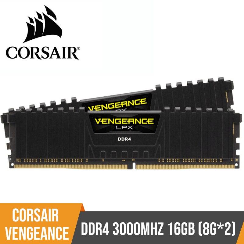 CORSAIR Vengeance LPX 8GB DDR4 PC4 2400Mhz 3000Mhz 3200Mhz Module 2400 3000 PC Computer Desktop RAM Memory 16GB 32GB DIMM