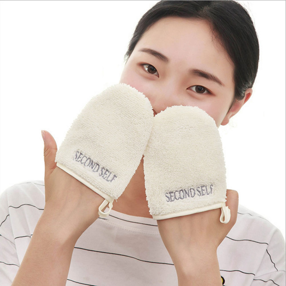Soft Remover Cleansing Glove Beauty Face Towel Makeup Microfiber Facial Cloth Reusable Towels Bathroom Washing Make Up Tool