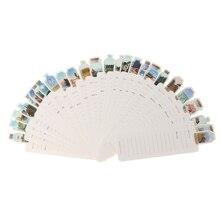 Ясно Бутылка дневник Закладки красивый узор Почтовые открытки супертяжелом Бумага карты W15