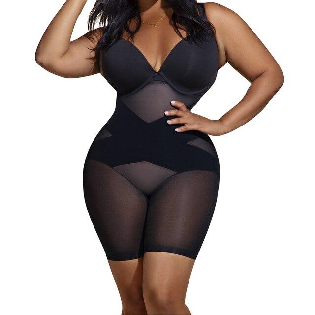 Lover-Beauty Women Slimming Underwear Bodysuit Body Shaper Waist Trainer Shapewear Postpartum Recovery Butt Lifter Panties 1