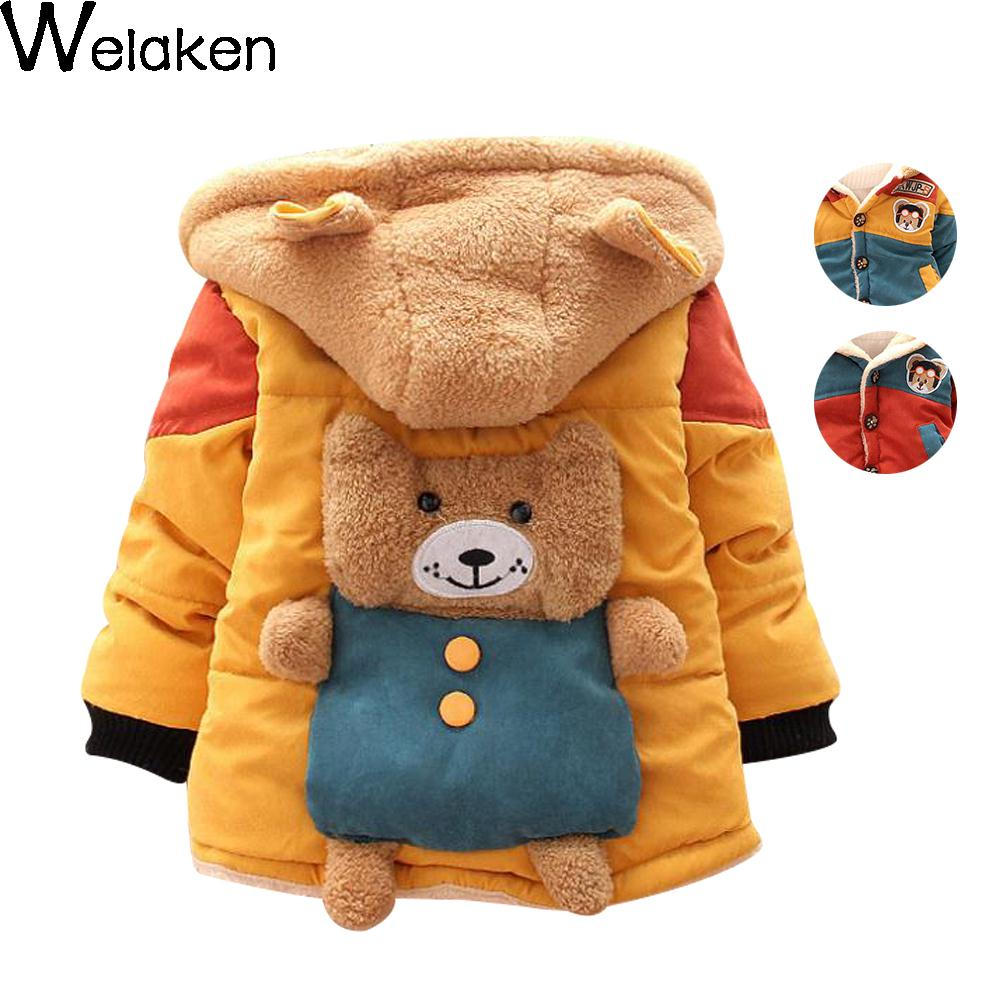 On Sale 2016 New Baby Boys Winter Jacket Coat Baby Clothes