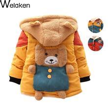 On Sale 2016 New Baby Boys Winter Jacket Coat Baby Clothes Panda Cartoon Bear Infant Baby Girls Outerwear Coat Kids Down Coat