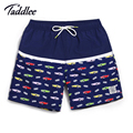 Taddlee Brand Men Beach Shorts Quick Drying Short Pants Boxers Trunks Men's Swimwear Swimsuits Man Boardshorts Active Bermudas
