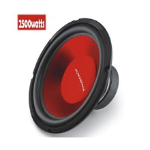 Cheapest price 2500watts 12inch Powerful Car Audio Subwoofer 4ohm Car Punch Trunk Acoustic Louder speakers font
