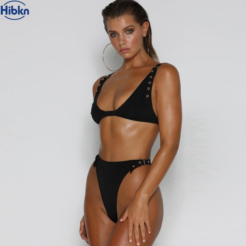 afcc10c811445 Detail Feedback Questions about Black high waist bikini thong ...