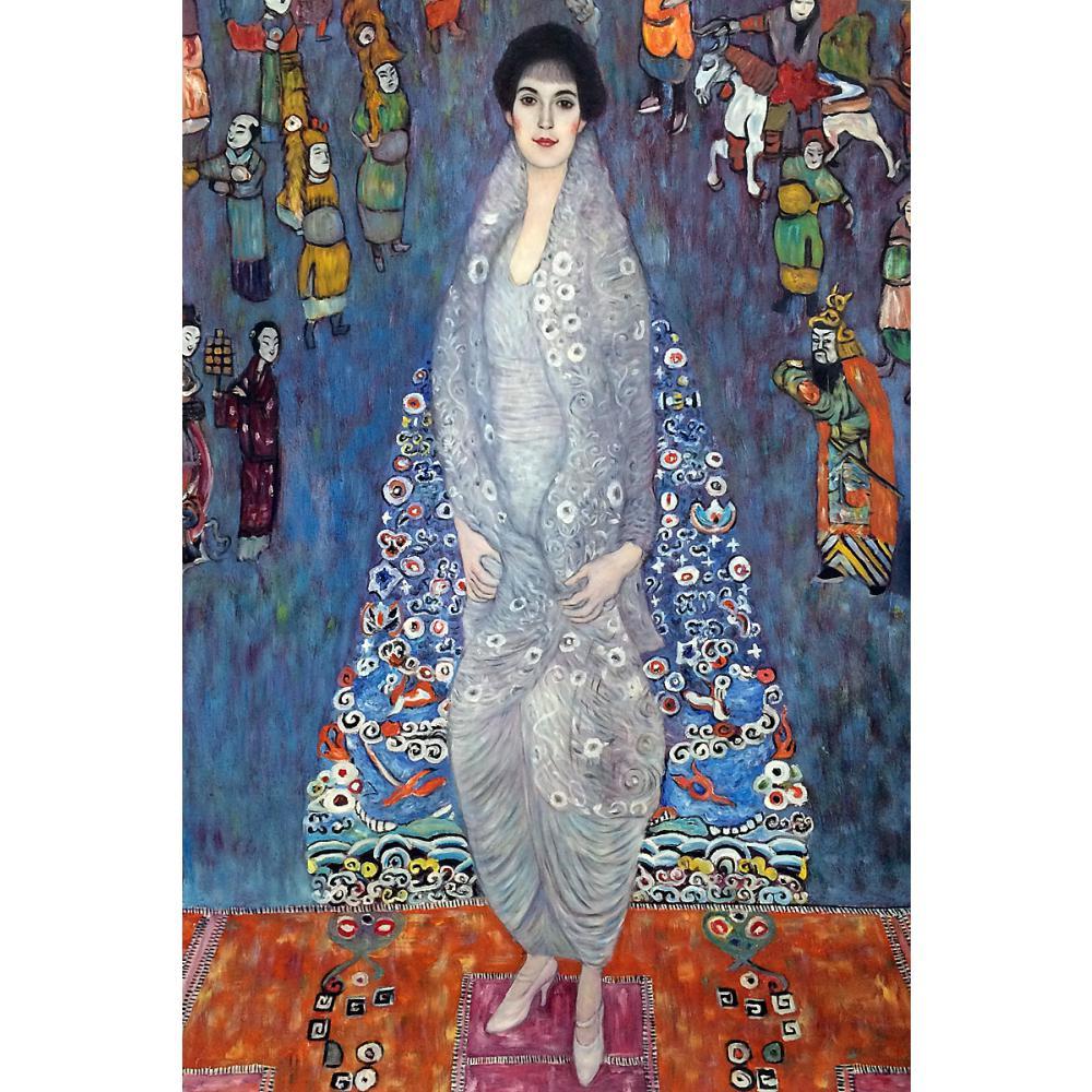 buy oil reproduction woman art by gustav klimt portrait of baroness elisabeth. Black Bedroom Furniture Sets. Home Design Ideas