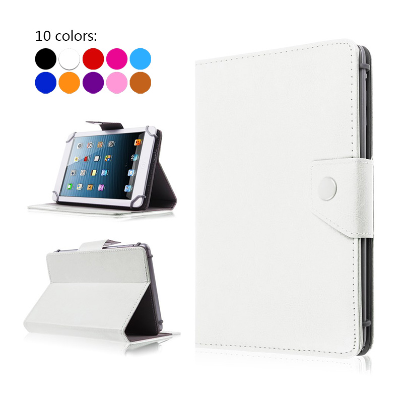 For Amazon Kindle Fire HD 7 inch Universal Tablet PU Leather Cover Case For Amazon Kindle New Fire 7 2015+ Stylus+Center Film case cover for goclever quantum 1010 lite 10 1 inch universal pu leather for new ipad 9 7 2017 cases center film pen kf492a