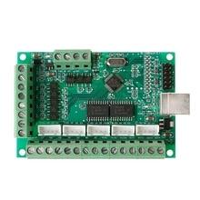 Cnc usb mach3 100 khz breakout placa 5 eixo interface driver controlador de movimento junho 05 atacado & dropship