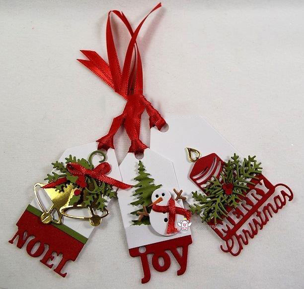 KC Impression Obsession Christmas Tags 1 grouping