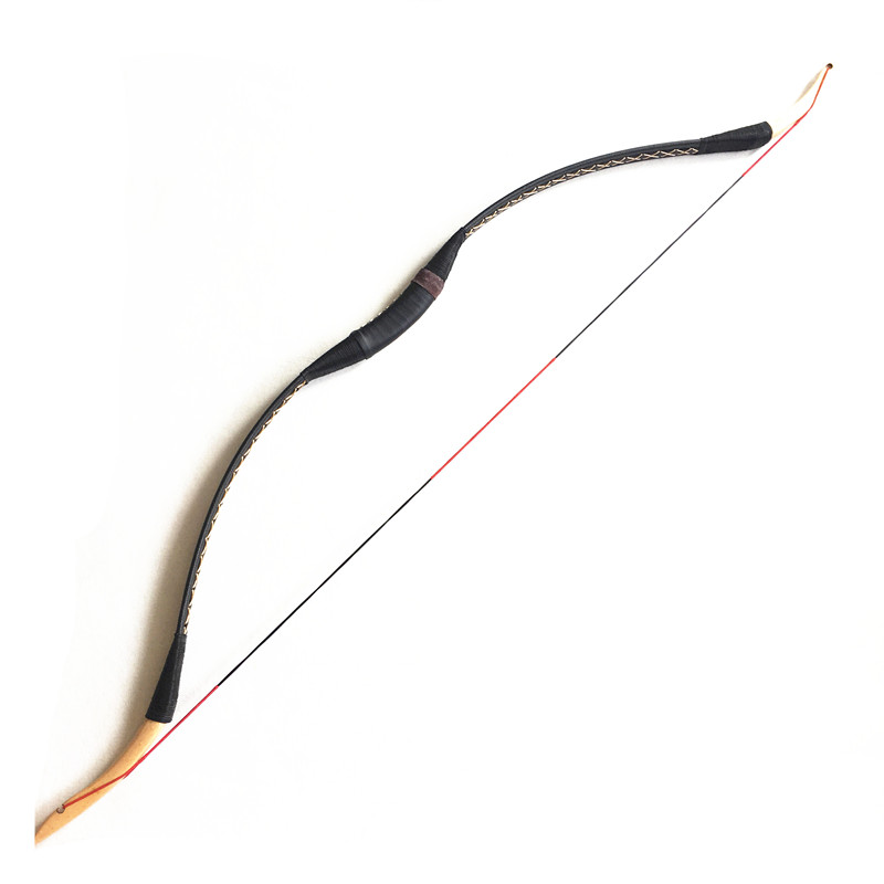 NEW 20 50IBS Practice Archery Hunting Traditional Handmade Recurve Bow Longbow  Shooting Hunting   Bow-in Darts from Sports & Entertainment    2
