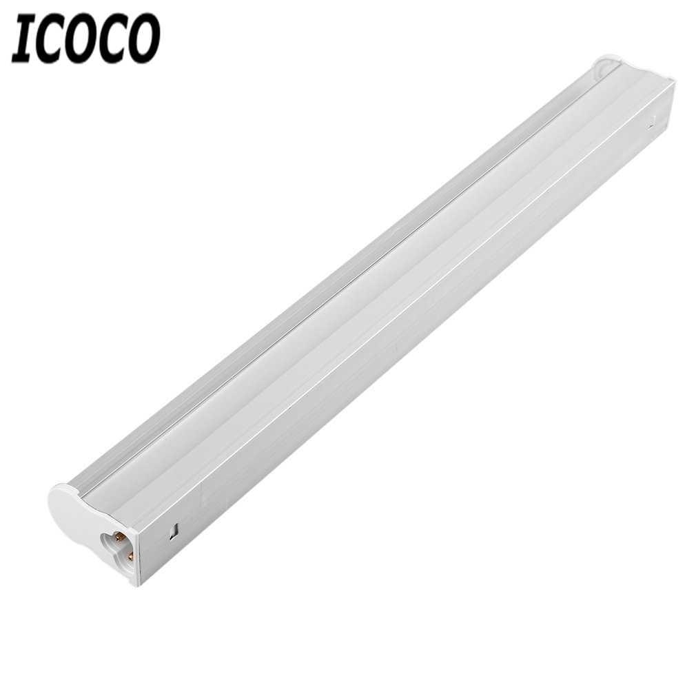 ICOCO 5 pièces/ensemble LED cultiver des lumières LED cultiver des plantes lampes Kits plein spectre T5 Tube intérieur plante hydroponique système serre