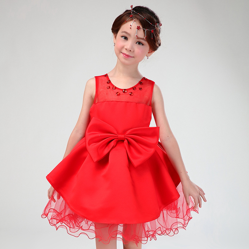 Flower Girl Dresses With Cardigan Children Kids Formal Vestidos 2018 Latest Kids Clothes Of 4-14 Years Old Girls AKF164083
