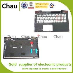 Mới Cho Lenovo Y50-70 Y50-80 Y50 Y50P Y50P-70 NẮP TRÊN Palmrest Trên Ốp Lưng + Đáy Cover AP14R000A00 AP14R000B00