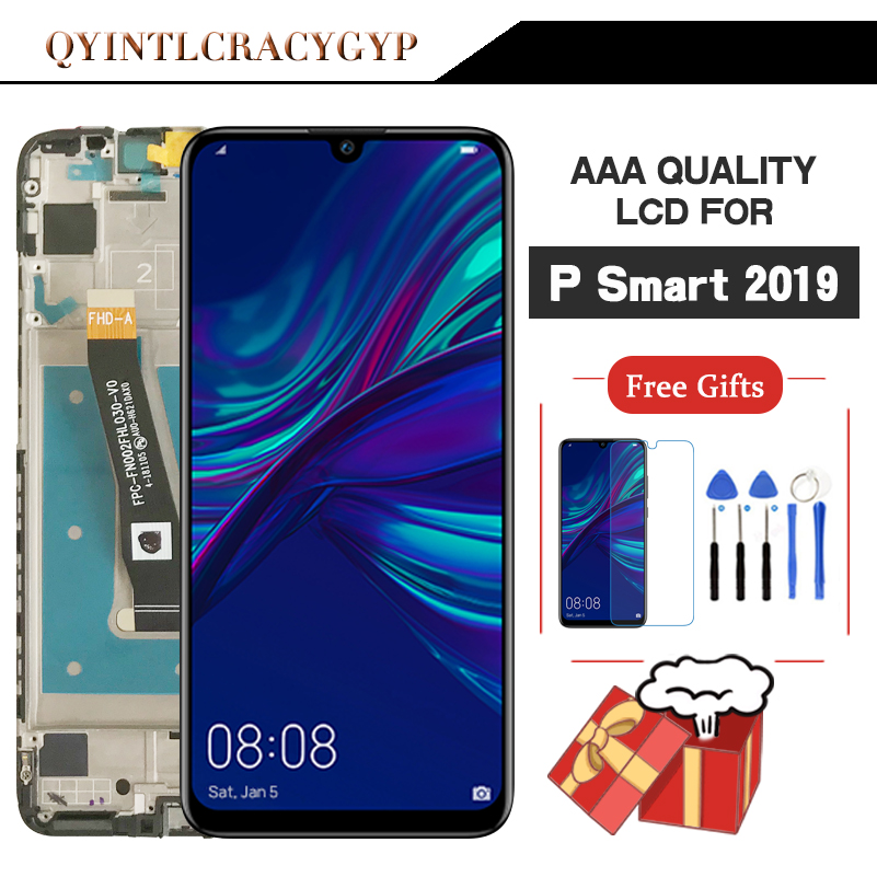 2340*1080 Original LCD With Frame For Huawei P Smart 2019 LCD Screen Display For P Smart 2019 Screen LCD POT-LX1 POT-L21 POT-LX3