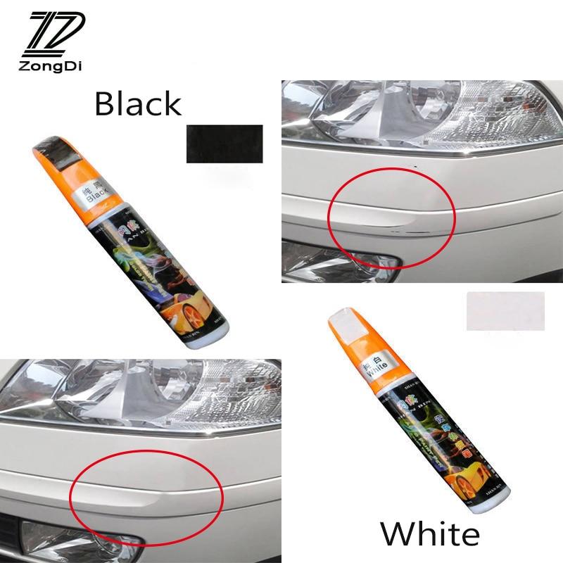 ZD 1Pcs For Audi A4 B7 B5 A6 C6 Q5 A5 Q7 TT A1 Honda Civic 2006-2011 Fit Accord CRV Car Paint Scratches Repair Pen Tools Cover