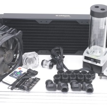 Barrow Waterkoeling Kit voor CPU Stijve Buis Intel AMD 360mm Koperen Radiator