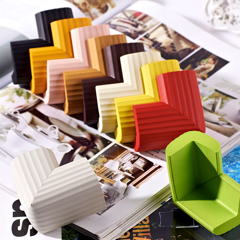 Multicolor PVC Soft Baby Children Kids Safe Table Desk Corner Protector Guard Cover Furniture Accessories 20pcs pvc soft baby children kids safe bed table desk corner protector cover furniture accessories white green coffee