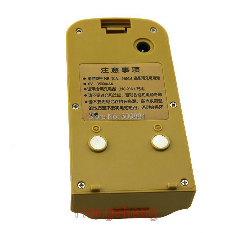 South Total Station BatteryNB-20C/SouthNTS-352Series Battery рюкзак picard 9809 113 023 ozean page 7