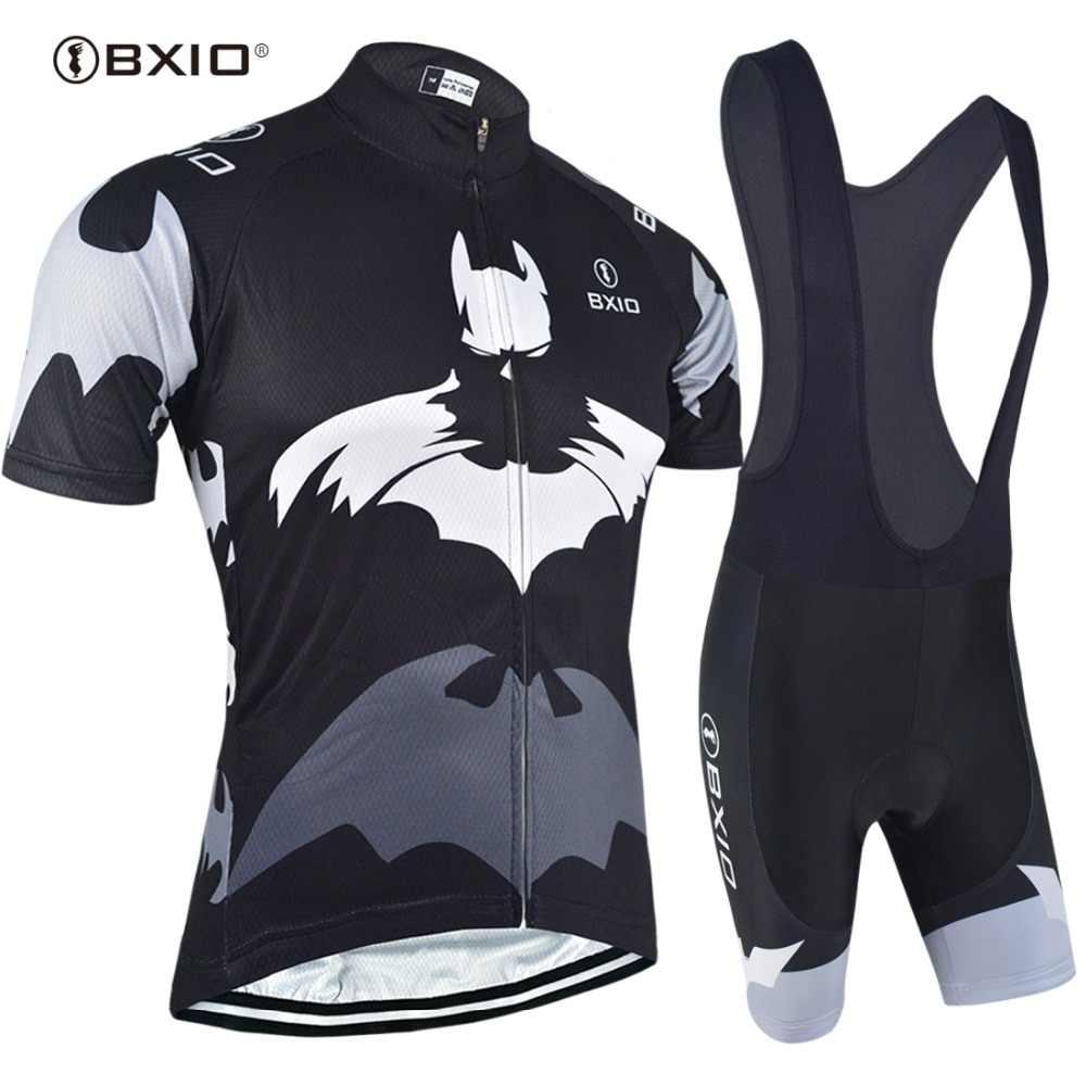 BXIO 2020 Pro רכיבה על אופניים ג 'רזי מקצועי אופני מחזור סטי בגדים חיצוני ספורט גופיות מאיו Ciclismo חם למכור BX-0209H111