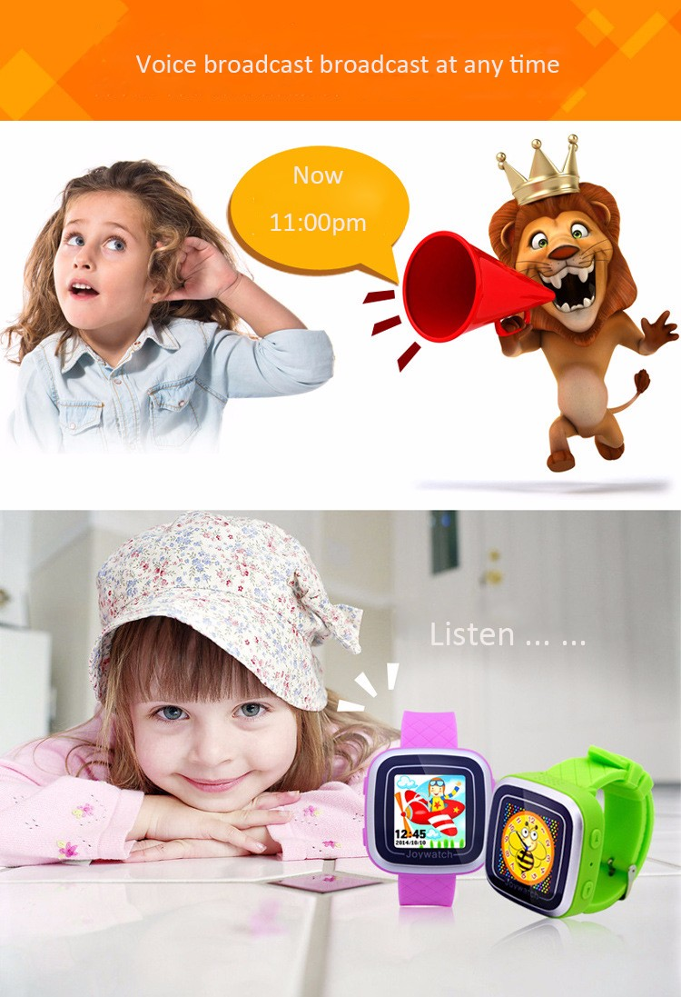 Watch Android Kids Smartwatch Color 1.5 Screen Games Watches Wearable Devices Children Fitness Tracker Sleep Monitor 4 Color (6)