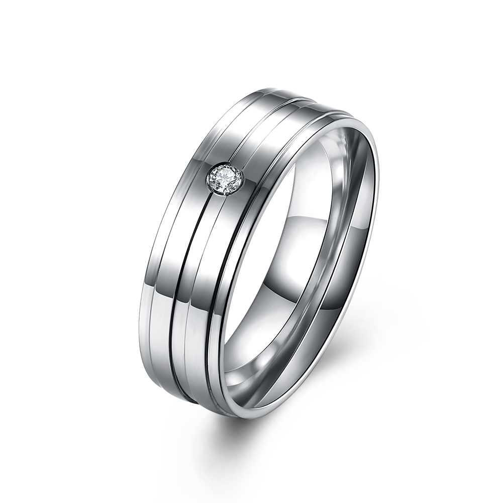 best seller list wedding bands engagement sports mens stone vintage crystal jewelry stainless steel rings sets for couples in rings from jewelry - Sports Wedding Rings
