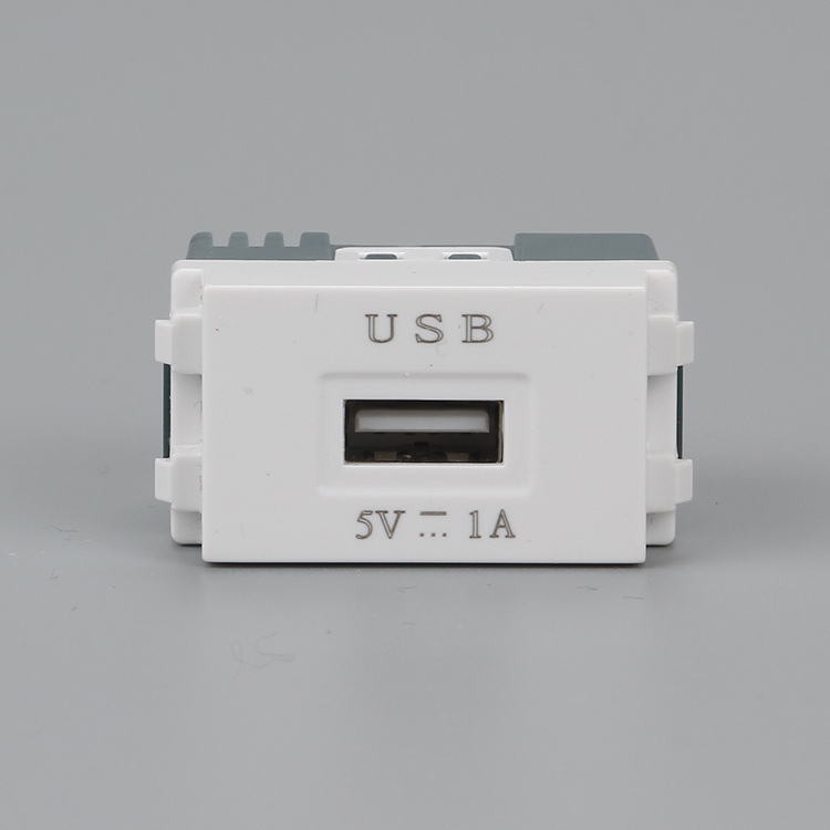 DC5V 1A USB2 0 Charging Modules 23x36mm USB Charger Socket For Wall Outlet