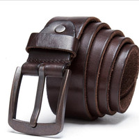 Retro Style First Layer Of Leather Handmade Men S Belt Wild Models Men S Belt