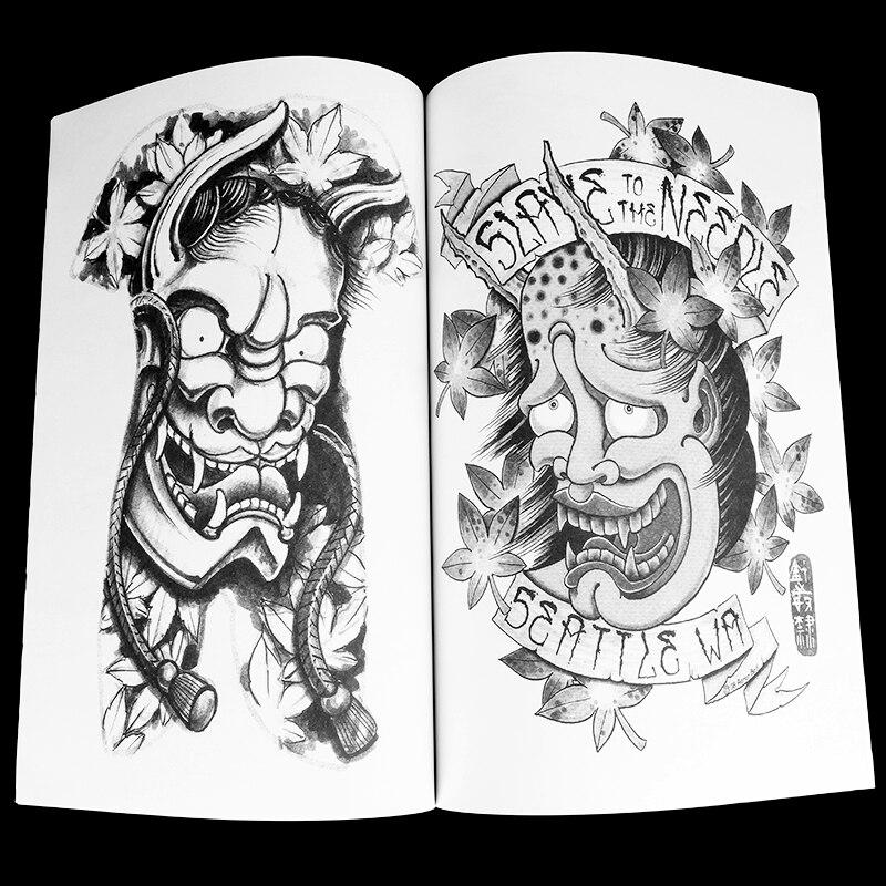 Jepang Naga Tattoo Desain Buku Pola Tato Sketshes Tb2203 Di Tattoo