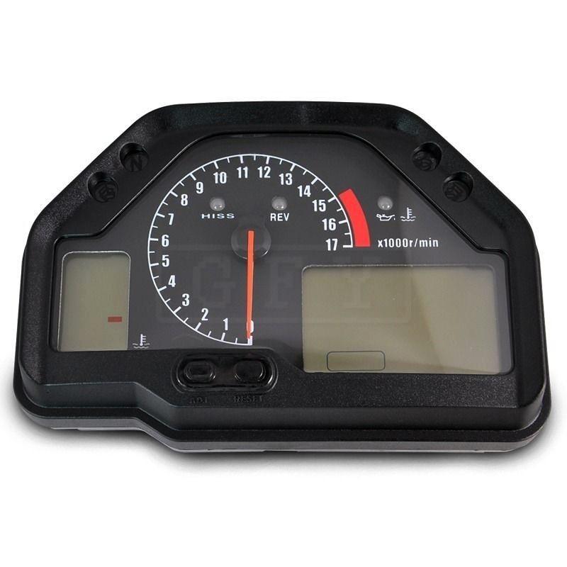 Moto LED Électronique Tachymètre Compteur Kilométrique Accessoire Jauge Kit pour Honda CBR600RR CBR 600RR CBR 600 RR 2003-06