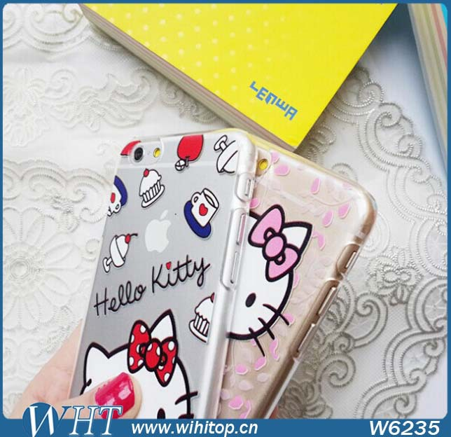 9a04062d0 50x Deluxe Hello Kitty Clear Case For iPhone 6 Plus, Cute Hard Printing Case  For iPhone 6 Free DHL on Aliexpress.com | Alibaba Group