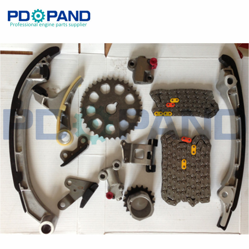 US $59 95 18% OFF 2TR 2TRFE 2TR FE Engine Timing Chain Gear Tensioner Kit  (12 pcs) for Toyota 4RUNNER/TACOMA/HIACE 2 7L 2005 2012-in Timing  Components
