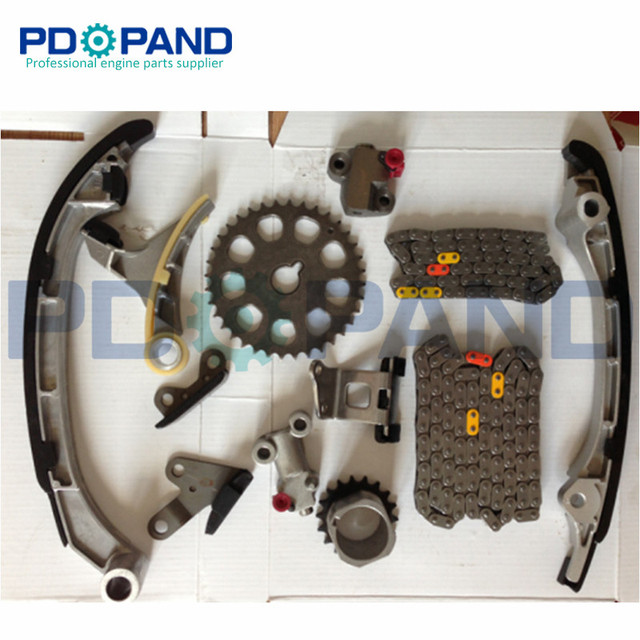 US $131 3 13% OFF|2TR 2TRFE 2TR FE Engine Timing Chain Gear Tensioner Kit  (12 pcs) for Toyota 4RUNNER/TACOMA/HIACE 2005 2012-in Timing Components  from