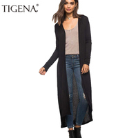 2016 New Casual Long Sleeve Knitted Cardigan Women Sweater Autumn Winter Black Green Pink Blue Pocket