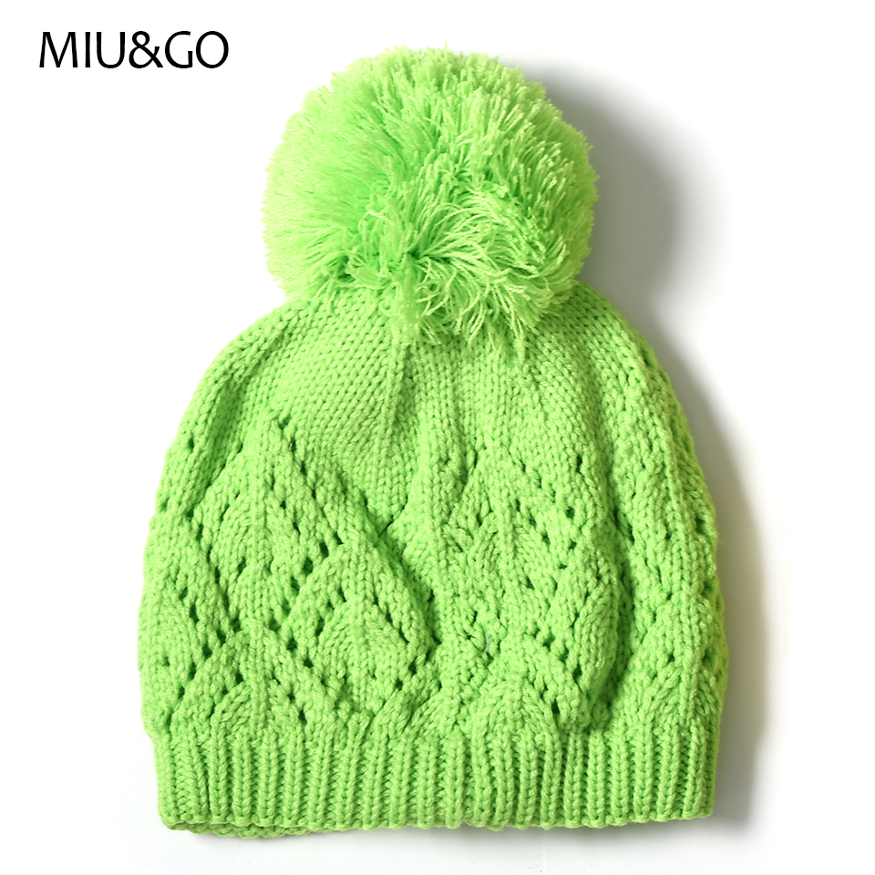 42b092f0972 Miu go cable knitting beanie geometric hollow patterned hat with jpg  960x960 Geometric hollow hat