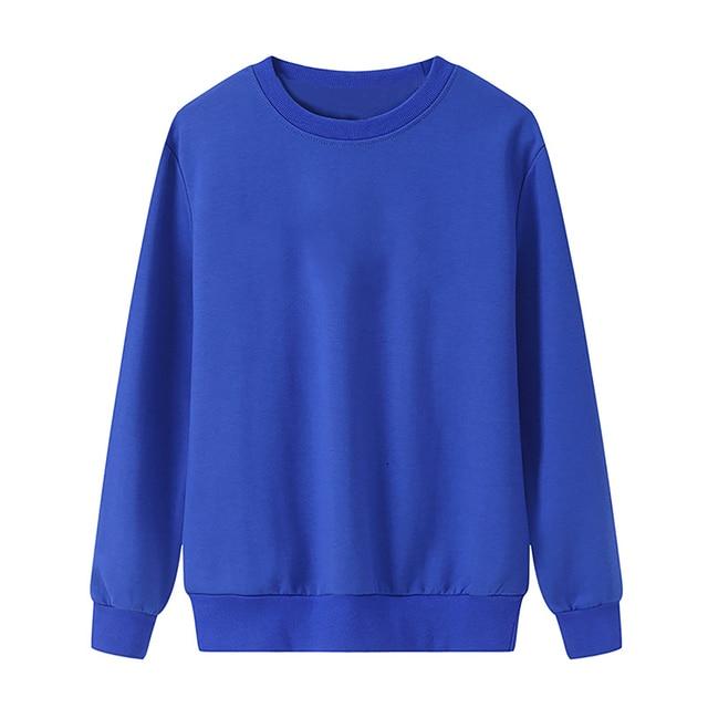 Solid Color Sweatshirt Women Casual Hoodie Fashion Winter Autumn Lasdies Pullover Fleece Black White Blue Red Gray Streetwear 1